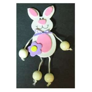 Foam Bunny Dangle Leg Pin Craft Kit Case Pack 144