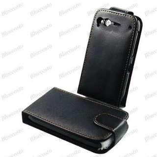 Flip PU Leather Case Pouch Cover For HTC Desire S S510E