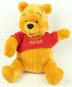 Disney Winnie the Pooh Plush Teddy Bear Stuffed Lovey