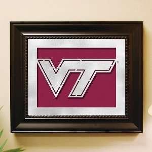 Virginia Tech Framed Laser Cut Metal Wall Art