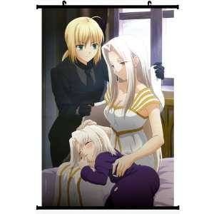Fate Zero Fate Stay Night Extra Anime Wall Scroll Poster Saber