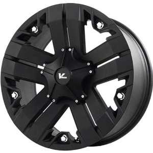 V ROCK WHEELS RECON MATTE BLACK 5X5 +0   17X9 Automotive