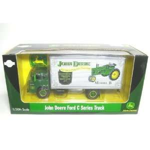 Athearn 1/50 Die Cast Ford C Box Van, John Deere Model B