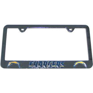 Ford Mustang Brushed Steel License Plate Frame Official