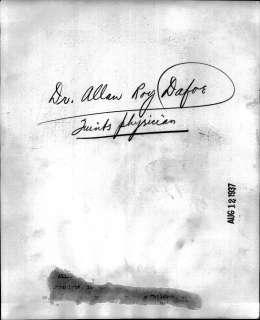 1937 Dr. Allan Dafoe Delivers Set of Dionne Quintuplets