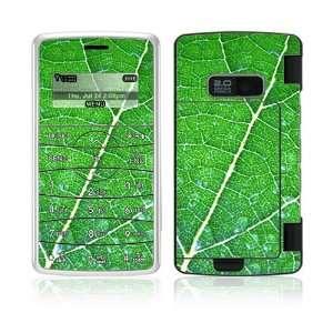 LG enV2 VX9100 Skin Decal Sticker Cover   Green Leaf
