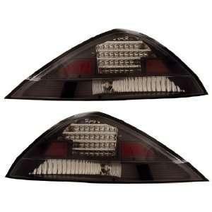 HONDA ACCORD 03 05 2 DR LED TAIL LIGHT BLACK NEW