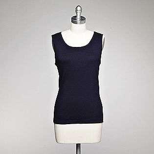 Womens Petite Rib Tank  Laura Scott Clothing Petite Tops
