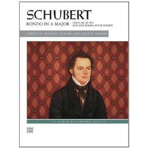 Schubert    Rondo in A Major, Op. 107, D. 951 (Alfred