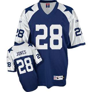 Reebok Dallas Cowboys Felix Jones Replica Throwback Jersey