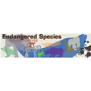 Endangered Species Bumper Magnet Automotive