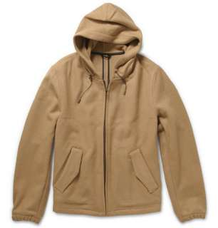 Coats and jackets  Lightweight jackets  Wool Blend Hooded Jacket