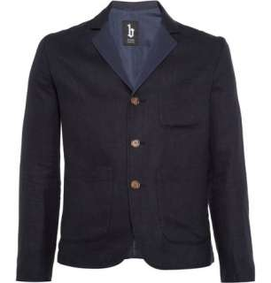 Clothing  Blazers  Single breasted  Brentwood Linen