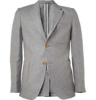 Clothing  Blazers  Single breasted  3B Rolling Linen