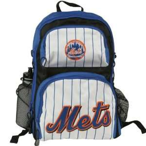New York Mets   Logo Youth Backpack W/ Bottle Sports