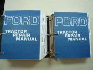 ford 3000 tractor owners manual