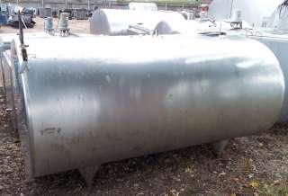 800 gallon DELAVAL EC800 Stainless Steel Bulk Milk Tank