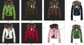 Womens Hoodies Sweatshirts Lady Fur Hoodies Jackets Coats Size S M L