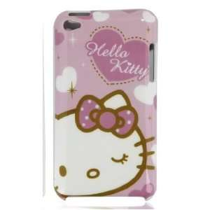 Hello Kitty Purple Ipod Touch 4g Hard Case  Players