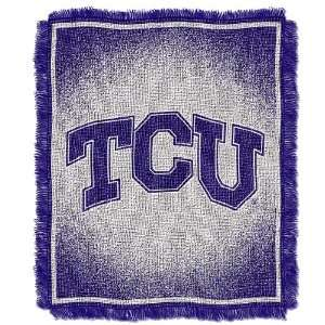 TCU Horned Frogs 48 X 60 College Acrylic Blanket By The