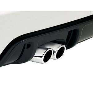 Volkswagen Exhaust Tips   Polished Stainless Steel