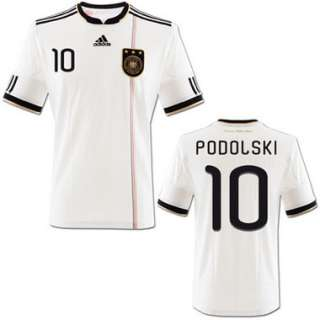 Adidas DFB Deutschland Heim Trikot Home weiß WM 2010