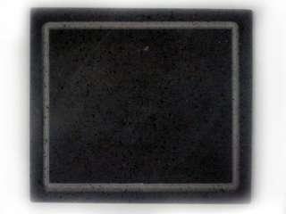Lava Stein Grill Specksteinplatte, Edelstahl Grill BBQ Pizzastein