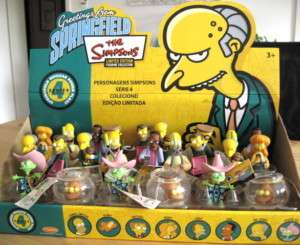 SIMPSONS FIGUREN SPRINGFIELD POWER PLANT BLINKY,