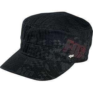 Fox Racing Full Jam Military Hat   Large/X Large/Black