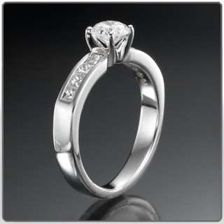 99 ct Diamanten Gold Ring Klassischer Verlobungsring