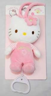 Hello Kitty SPIELUHR Baby Stofftier Sanrio NEU OVP