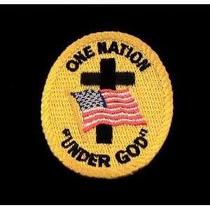 U.S. United States Flag One Nation Under God Patch