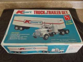 Amt 1:43 Scale K mart Truck & Trailer Set Peterbilt 359 Conventional