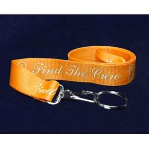Lanyard   Orange Ribbon (RETAIL): Sports & Outdoors
