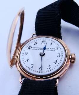 Ladies Vintage 18K Yellow Gold Patek Phillipe Watch