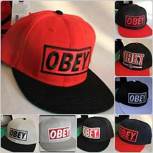 Brand new OBEY snapbacks baseball hip hop street dancing peaked Cap