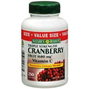 Natures Bounty  Triple Strength Cranberry with Vitamins C