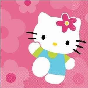 Hello Kitty Flower Fun Beverage Napkins 16ct Toys & Games