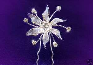 pcs Set X Bridal Wedding Flower Hair Pins P1058