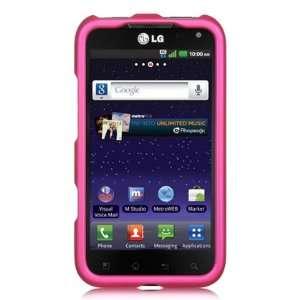 VMG Sprint LG Viper 4G LTE Phone Hard Case Cover   PINK Premium Hard 2