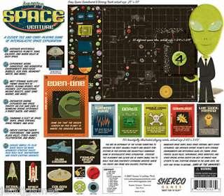 AMAZING SPACE VENTURE adventure board game NEW