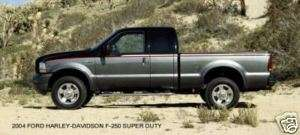 2004 FORD ~ HARLEY DAVIDSON F 250 SUPER DUTY PICKUP