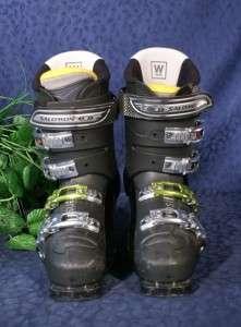 Black SALOMON SENSIFIT XWAVE 8.0 Ski Boots MP 26 26.5
