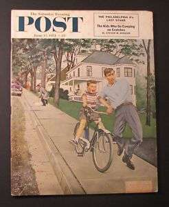 1954 SATURDAY EVENING POST Magazine   June 12