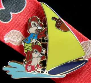 DISNEY LANYARD & MEDALLION & PIN   MICKEY MOUSE   BEACH   LIMITED