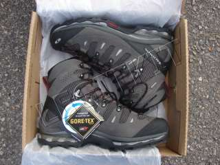 NEW Salomon Quest 4D GTX Boots Mid SIZE 10 Mens Hiking Tactical Black