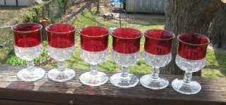 KINGS CROWN RUBY FLASH GOBLETS BUY WHAT YOU WANT