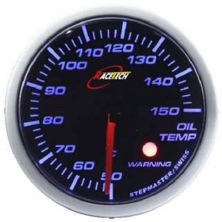 RACE TECH GAUGE 52mm BLUE LED AIR FUEL RATIO WARNING