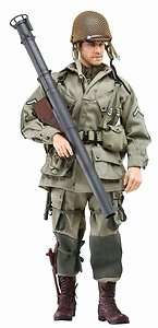 Hobby 12 WWII US 101st Airborne Paratrooper Jim Bazooka 73152