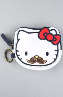 Loungefly The Hello Kitty Mustache Coin Bag  Karmaloop   Global
